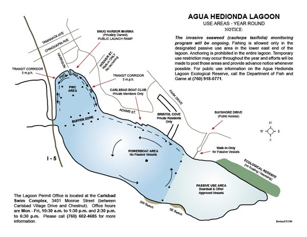 Carlsbad Lagoons Outlaw Boaters
