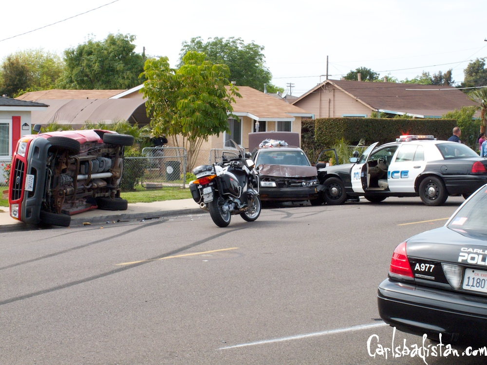 Police Chase Ends In Madison St Crash