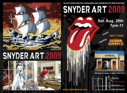 Snyder Art 2009