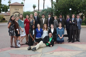 Prs - Stanford Model Un Conference - Fall 2009 Hs Student Delegates