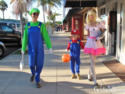 The Super Mario Family